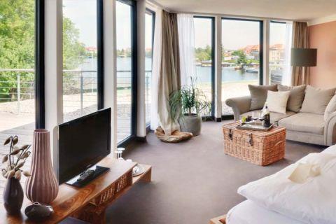 Zimmerbeispiel - Hotel Rosendomizil Malchow