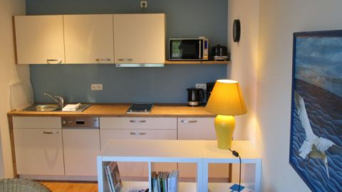 Küchenzeile - KIWI Ferienwohnungen