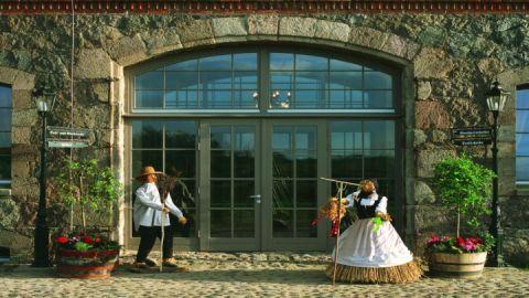 Eingang Landhotel