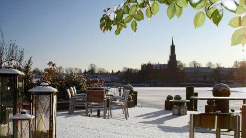 Winter in Malchow - Hotel Rosendomizil