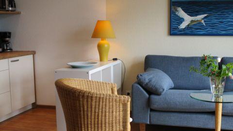 Wohnzimmer - KIWI Ferienwohnungen