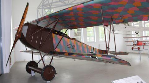 Fokker D-VII, herausragendes Jagdflugzeug im 1. WK (1918)