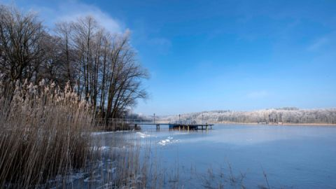 Winter am Nebelsee - Seehotel Ichlim