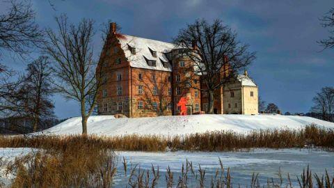 Schloss & Gut Ulrichshusen im Schnee