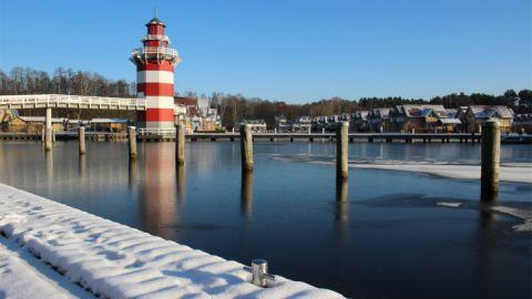 Winter am Maritim Hafenhotel Rheinsberg